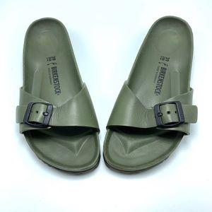 Birkenstock EVA Madrid Sandals in Fatigue Green
